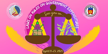 Webinar on Laws and Rules on Government Expenditures (LARGE) tickets