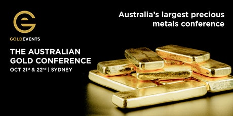 The Australian Gold Conference tickets