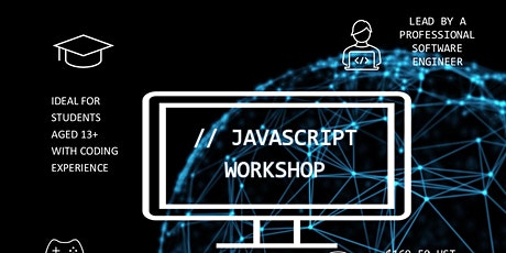 Javascript - Intermediate Coding for 13+ (6 classes) Tickets
