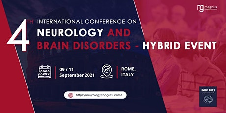 4th International Conference on Neurology and Brain Disorders biglietti