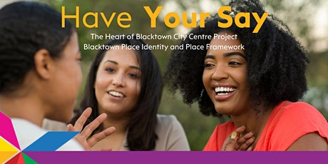 The Heart of Blacktown City Centre- Community Workshop tickets