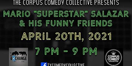 Mario Salazar and Friends 420 show tickets