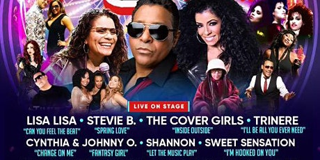 Freestyle Festival w/ Lisa Lisa, Stevie B, Cover Girls, Trinere & more tickets