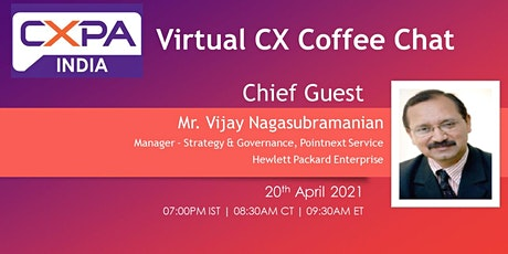 Virtual CX Coffee Chat - April 2021 tickets