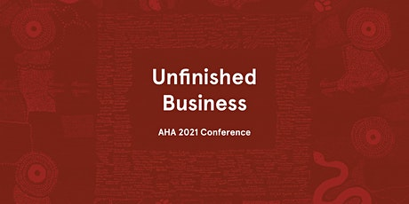 Australian Historical Association 2021 Annual Conference tickets