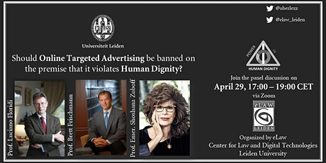 Panel Discussion(Zoom): Online Targeted Advertising and Human Dignity tickets