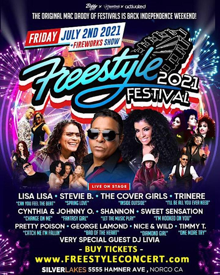 Freestyle Festival w/ Lisa Lisa, Stevie B, Cover Girls, Trinere & more image