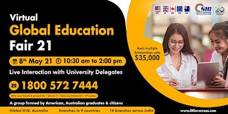 Virtual Global Education Fair 2021 tickets
