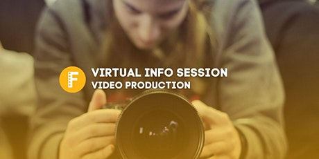 Virtual Info Session: Video Production Certificate tickets
