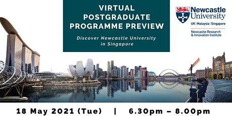 Postgraduate Programme Preview by Newcastle University in Singapore tickets