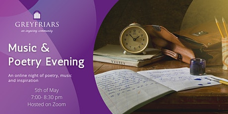 Music & Poetry Evening tickets