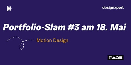 Digitaler Portfolio-Slam #3 Tickets