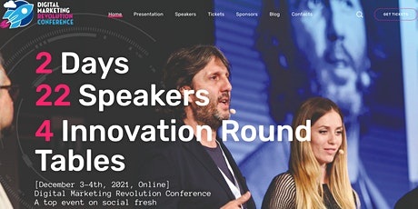 Digital Marketing Revolution Conference tickets