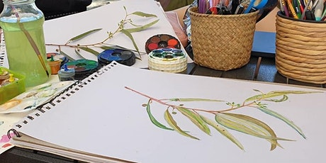 River gums drawing and watercolours Workshop  from 1:30pm - 4pm 13yr & Up tickets