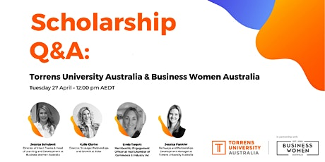 Online: Scholarship Q&A with Business Women Australia and TUA tickets