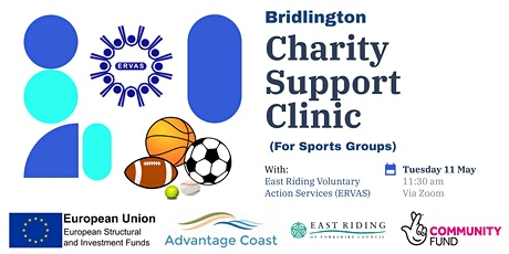 Bridlington - Charity Support Clinic (for sports groups) tickets