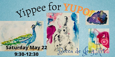 Watercolours Painting & Yupo Paper Workshop tickets