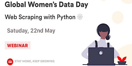Global Women's Data Day: Web Scraping with Python tickets