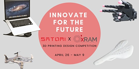 INNOVATE FOR THE FUTURE: 3D PRINTING DESIGN COMPETITION tickets
