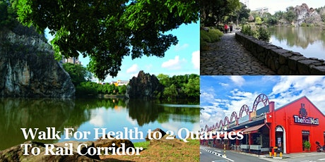Walk For Health  to 2 Quarries and Rail Corridor (May 16) tickets