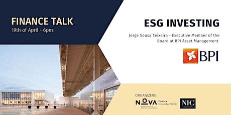 ESG Investing tickets