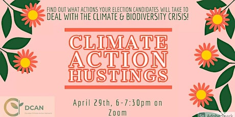 Climate Action Hustings tickets