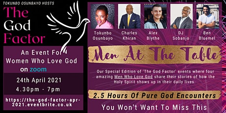 The God Factor Monthly- Men At The Table tickets