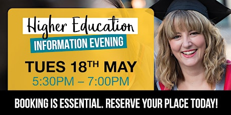 Stockton Riverside College's Higher Education Information Evening tickets