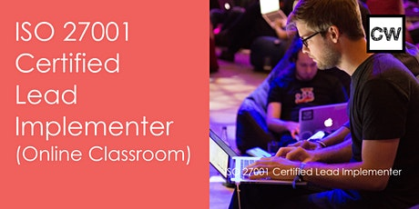 ISO 27001 ISMS Lead Implementer Certification ( Online Classroom) entradas