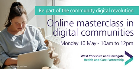 Online masterclass in digital communities tickets