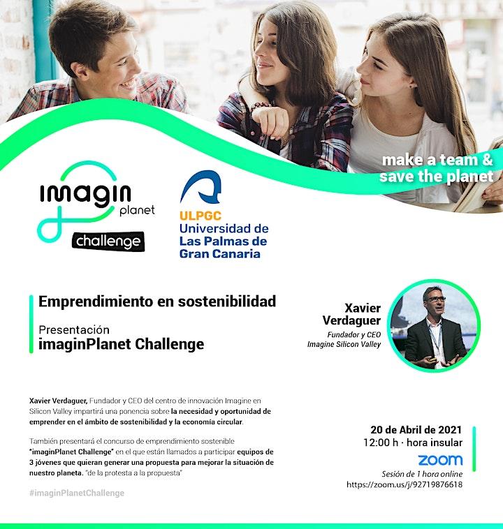 Imagen de Emprendimiento en sostenibilidad - ImaginPlanet Challenge