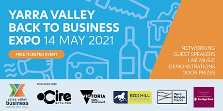 Yarra Valley Back to Business Expo - Exhibitor Registration & B2B Access tickets