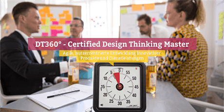 DT360° – Certified Design Thinking Master, Online Tickets
