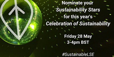 Celebration of Sustainability tickets
