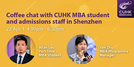 MBA Coffee Chat in Shenzhen tickets