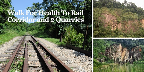 Walk For Health  to Rail Corridor and 2 Quarries (May 23) tickets