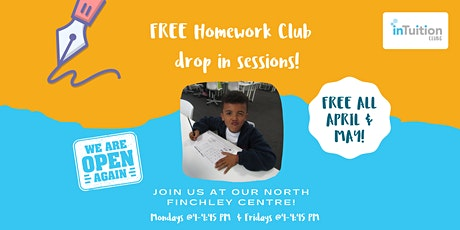 Free Homework Club Drop-in! tickets
