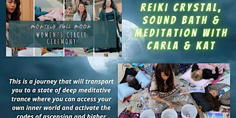 Women's Circle: Reiki Crystal Sound Healing & Meditation tickets