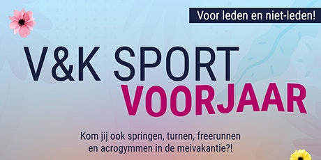 V&K Sport Voorjaar! tickets