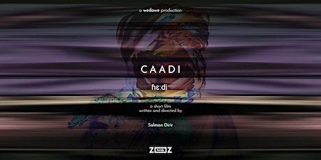 CAADI - film premiere tickets