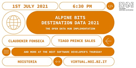 Software Developers Thursday: the Open Data Hub AlpineBits DestinationData biglietti