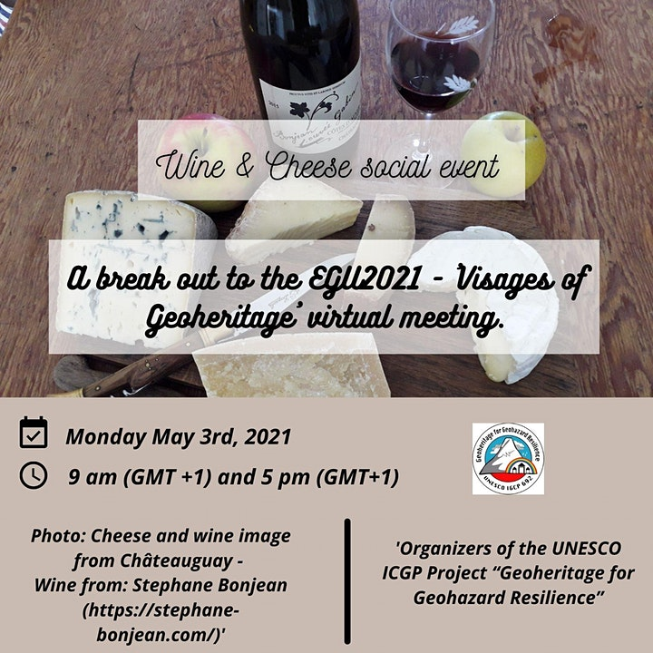 Wine & Cheese Social Event image