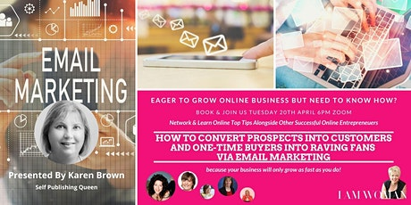 CONVERT PROSPECTS INTO CUSTOMERS AND ONE-TIME BUYERS INTO RAVING FANS ingressos