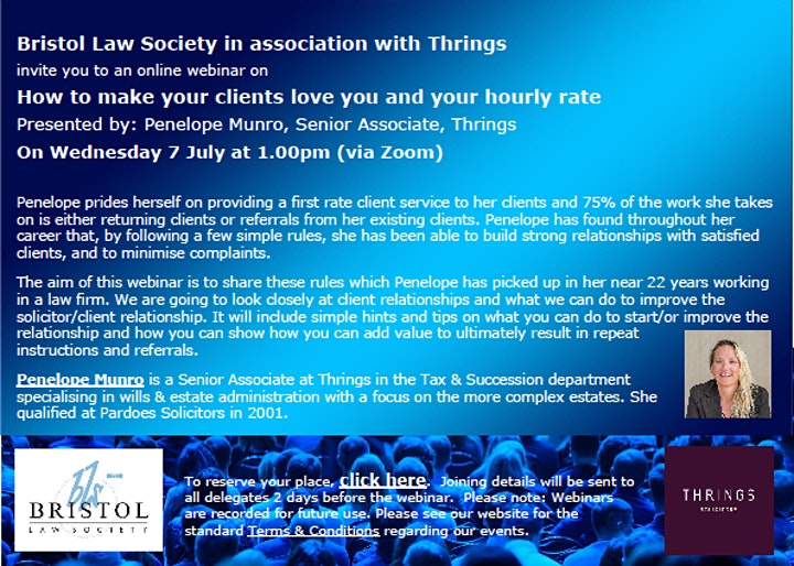How to make your clients love you and your hourly rate image