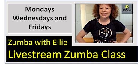 Live Online Zumba with Ellie tickets