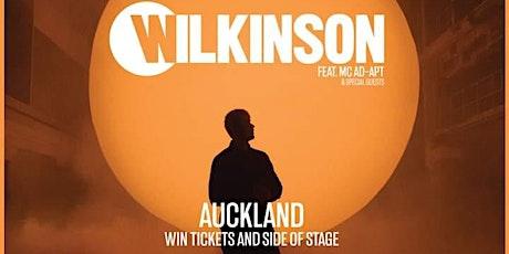Wilkinson - Auckland 2021 tickets