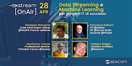 Come sfruttare Apache Kafka e il Data Streaming in progetti IT di successo biglietti