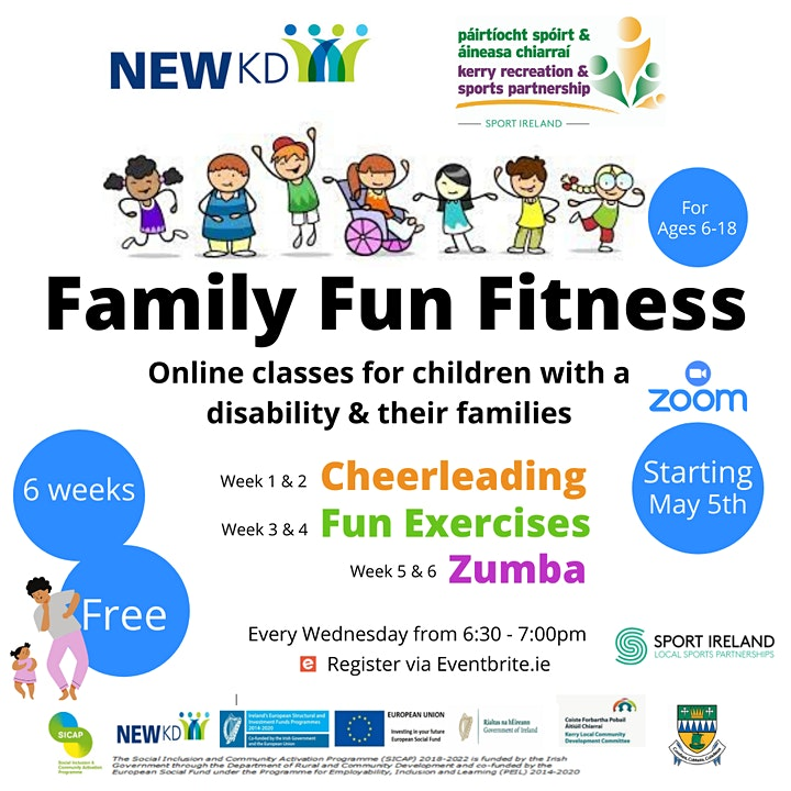 Family Fun Fitness image