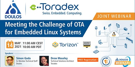 Webinar: Meeting the Challenge of OTA for Embedded Linux Systems tickets