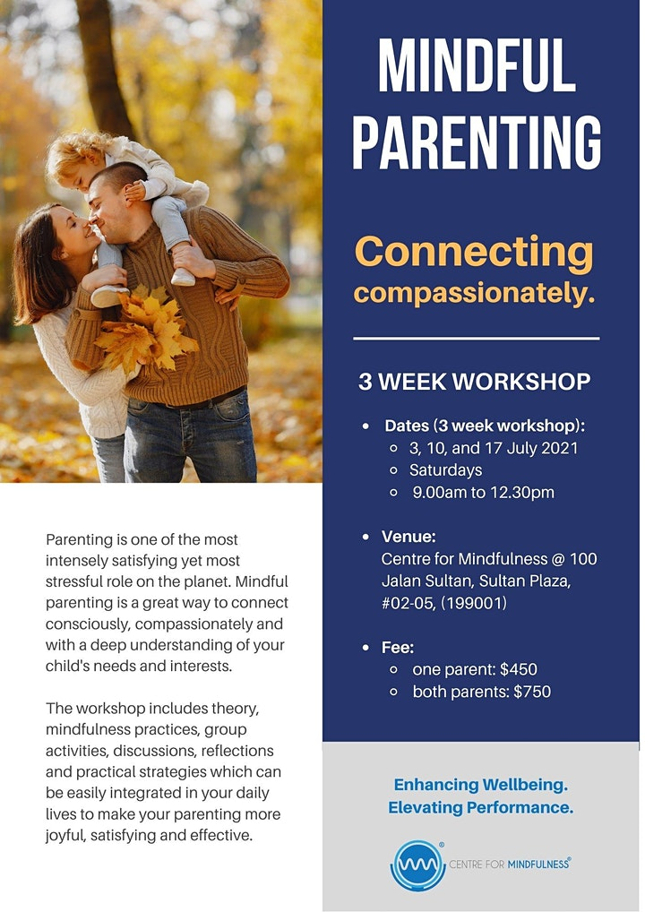 Mindful Parenting Workshop (Jul) image